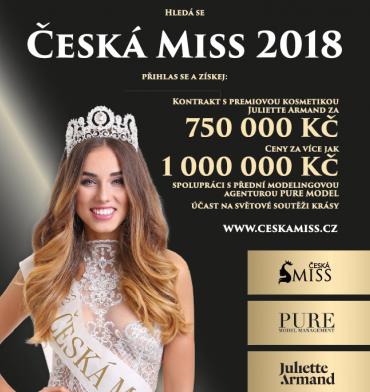 Hledá se Česká Miss 2018