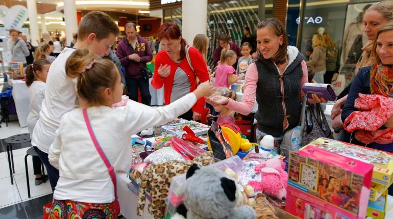 Charitativní dětský bleší trh