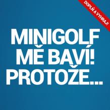 Soutěž s minigolfem na facebooku