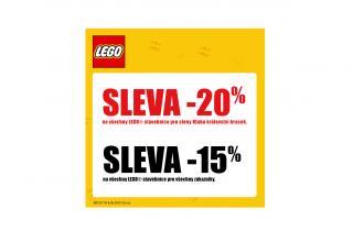 Sleva na všechny LEGO stavebnice
