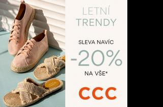 CCC Letní trendy sleva navíc - 20% na vše