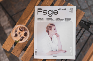 Letní vydání magazínu Page