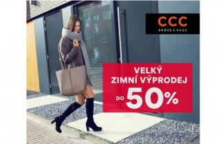 Velký zimní výprodej v CCC!