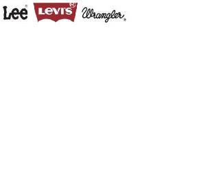 Logo Wrangler, Lee, Levi´s